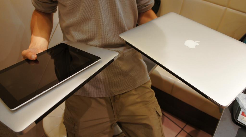 Macbook pro retinaとmacbook air 13インチだったらどっちに